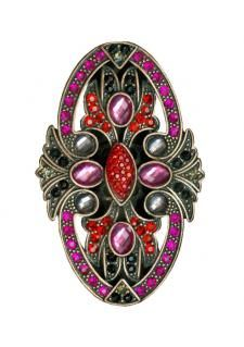 victorian jeweled ring $18