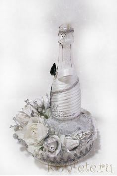 Gallery.ru / Декор шампанского - Свадебное и не только... - elena-konopleva