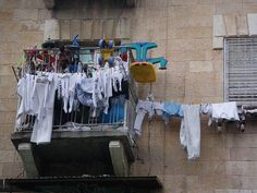 hanging laundry, my favorite! by JoséDay, via Flickr