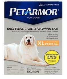 PetArmor Squeeze on Flea and Tick Repellent for Dogs, 89 to 3 Count ** Hurry! Check out this great product : Flea and Tick Control Tick Repellent For Dogs, Flea Spray For Dogs, Tick Control, Dog Itching, Dog Training Pads, Dog Shower, Dog Shedding, Dog Diapers
