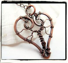 $32.99 Heart Copper Tree of Life Pendant With Chain