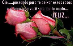 Rosas para desejar a você feliz aniversário #felicidades #feliz_aniversario #parabens