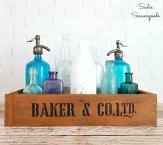 47 best vintage sign stencils reader features images on pinterest how to upcycle drawers into diy vintage wooden crates for home decor solutioingenieria Gallery