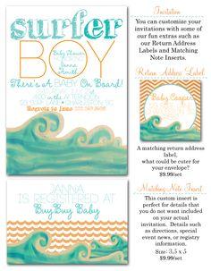 surfer baby surf baby shower surf baby shower invites surf invites via party