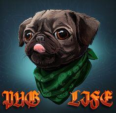 ArtStation - Pug Life, Rokas Butkus