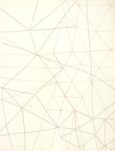 """Gego,""""Sin Titulo (untitled)"""", 1970, from the book """"Twice Drawn, Modern and Contemporary Drawings in Context""""."""