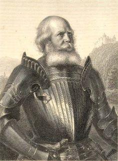 Götz (or Gottfried) von Berlichingen was a German knight who lived between 1480 and 1562