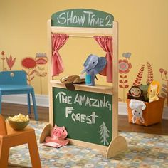A Night At The Puppet Theater