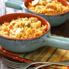 Mom's Spanish Chicken and Rice