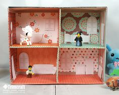 Looking for a half term craft project to keep the kids busy, our pocket friendly doll's house is made from a shoebox and decorated with our free printable furniture templates…