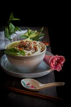Sweet and sour fish soup with noodles (asam laksa) #asamlaksa #Indonesianrecipes