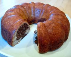 Marbled Banana Bundt Cake | Baking Bites