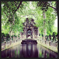 Jardin du Luxembourg in Paris, Île-de-France 6th. 1612