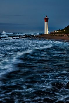 "travelingcolors: ""Umhlanga Lighthouse, Durban 