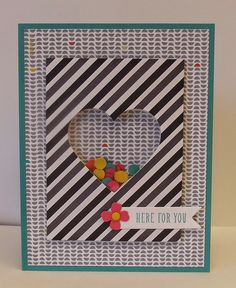 Project Life Everyday Adventure,Stampin' Up!,shaker card
