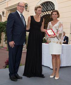 23-6-2018 Prins Albert en Prinses Charlene attended the 1st Grimaldi Culture Meeting