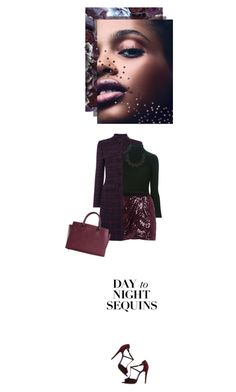 """""""Day to Night Sequins"""" by fashionbrownies ❤ liked on Polyvore featuring Brian Atwood, Carven, BCBGMAXAZRIA, Lulu Frost, Michael Kors, DayToNight, Sequins and polyvoreeditorial"""