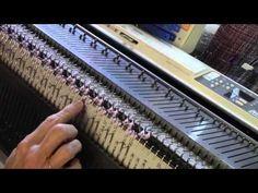 Machine Knit English Rib Cloche Hat by Diana Sullivan - YouTube