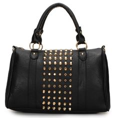 It is a fashion and cool punk style women bag, made of Pu leather, with rivets…