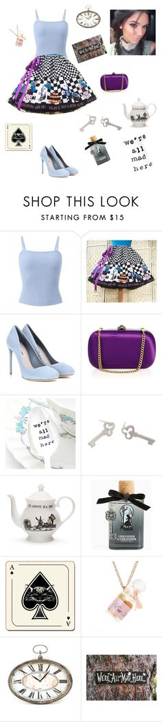 """""""♠️Kendall in Wonderland ♣️"""" by lucia-camusso ❤ liked on Polyvore featuring Miu Miu, Kendall + Kylie, Gucci, Sian Bostwick Jewellery, Mrs Moore, Torrid, Avenida Home and Zentique"""