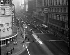 Now its the GAP and Westfield Shopping Center by SFMTA Photo Archives, via Flickr