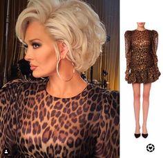 f79de8e70 Erika Jayne Girardi's Leopard Dress. Leopard Dress, Housewives Of Beverly  Hills ...