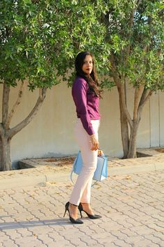 The Silver Kick Diaries: Deep Wine and Blush Pink Can be Formal Too!