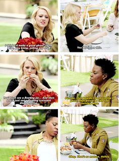 This quality bit of insight. | 19 Times Kate McKinnon Really Ruled At Existing…