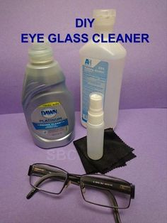 e0fbe82eb3 Photo  Have you seen how expensive eyeglass cleaner is at the store  Did you