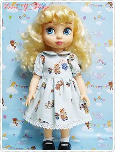 - 1 Dress Fit for : Disney Animators' Collection Doll (not include shoe and doll) Disney Toddler Dolls, Disney Dolls, Baby Disney, Doll Clothes Patterns, Doll Patterns, Disney Animators Collection Dolls, Merida, Cinderella Doll, Aladdin