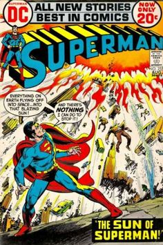 Superman cover by Nick Cardy