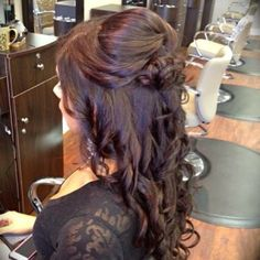 My grad hair...hopefully