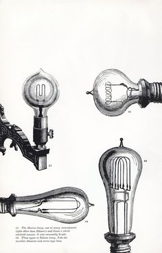 vintage Steampunk lightbulbs electricity by VintageAndNostalgia