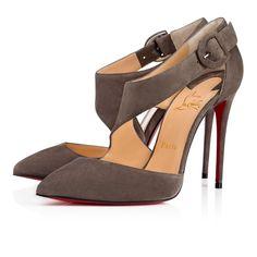b5de3a2026e Sharpeta 100 Roche Suede - Women Shoes - Christian Louboutin. StilettosStiletto  HeelsHigh ...