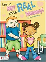 """She is not your real Mommy!"" One day at school, Ann Marie is teased for being different from the other kids because she was adopted. Author Tricia Keierleber weaves a wonderful story that shows how adopted children are loved the same by their parents in She is Not Your Real Mommy!"