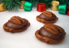 Pretzel Turtles #easy and #delicious.