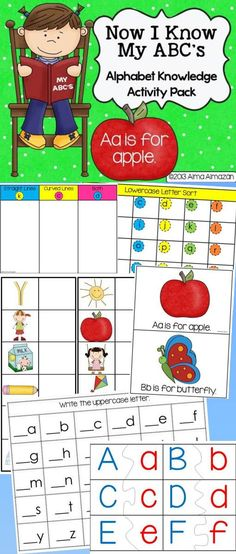 Do you have kindergarteners or first graders that still need alphabet practice? If so, this is the pack for you!   In this pack you will get: Alphabet Activity Mats, Alphabet Sounds Small Flipbook, Letter Sorting Mats, Small Letter Tiles, Letter Matching Puzzles and student response sheets. Soon to be available in Spanish! Created by Alma Almazan