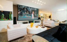 Sala de estar. @ligiaenicollearquitetura