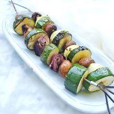 #bbq groentespies #recept www.madebyellen.com