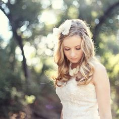 A sweet vintage bridal session.