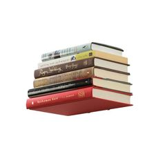 Mount this shelf and create the illusion of floating books. Hardware included.