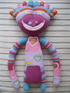 Toe Head Sock Creature! - TOYS, DOLLS AND PLAYTHINGS