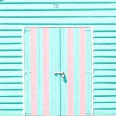 Pastel door.
