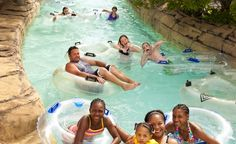Spend the long weekend blissfully floating down the lazy river at Morey's Piers & Beachfront Waterparks, Raging Waters, in Wildwood, New Jersey.