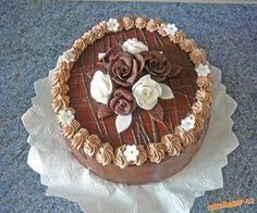 Paříž z ledových kaštanů s broskvemi + postup Birthday Treats, Birthday Cake, Cake Decorating For Beginners, Sweet And Salty, Beautiful Cakes, Cake Designs, Cake Pops, Chocolate Cake, Tiramisu
