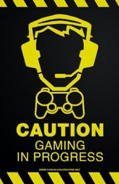 Shop Video Game Poster - Gaming In Progress created by CasuallyHardcore. Video Game Bedroom, Video Game Rooms, Video Games, Deco Gamer, Game Tester Jobs, Gamer Quotes, Gamer Meme, Gamer Bedroom, Home Music