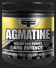 Primaforce Agmatine 30 Grams - Pre-Workout - Performance, Muscle Building & Recovery - Sports Nutrition & More