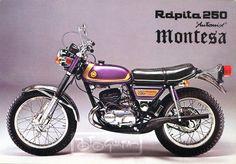1974 Montesa Rápita 250 Automix
