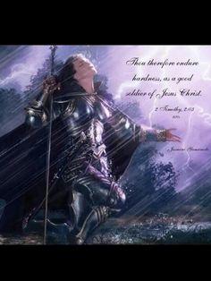 2 Timothy 2:3... My son Timothy <3