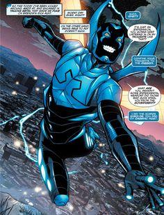 """Comics and nothin' but — Blue Beetle - """"Metamorphosis III"""" Dc Comics Superheroes, Dc Comics Art, Marvel Dc Comics, Wonder Twins, Comic Book Publishers, Batman Wonder Woman, Blue Beetle, Marvel Villains, Comic Panels"""